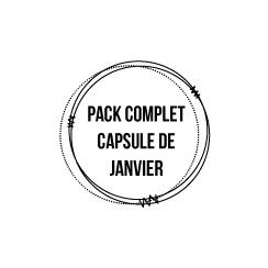 Pack complet capsule de Janvier 2017
