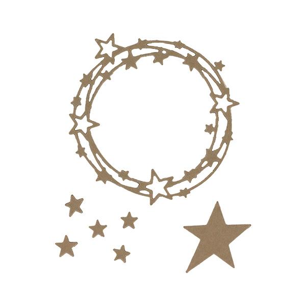 Outils de découpe RONDE D'ÉTOILES-Capsule Janvier 2017