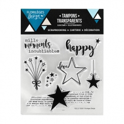 Tampon clear MILLE MOMENTS-Capsule Janvier 2017