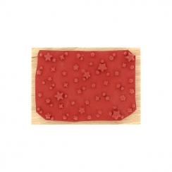 Tampon bois CIEL ÉTOILÉ par Florilèges Design. Scrapbooking et loisirs créatifs. Livraison rapide et cadeau dans chaque comma...