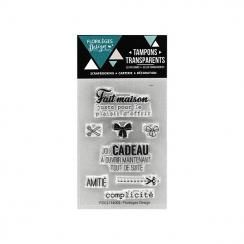 Tampons clear mini CADEAU MAISON par Florilèges Design. Scrapbooking et loisirs créatifs. Livraison rapide et cadeau dans cha...