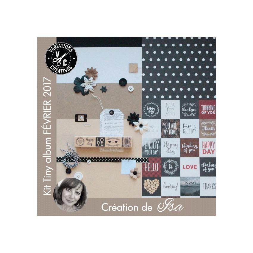 Kit Tiny Album FÉVRIER 2017