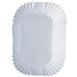 PROMO de -80% sur Caisettes rectangles blanchesOK Wilton
