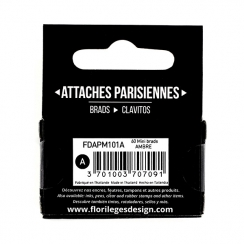 Mini attaches parisiennes Ambre