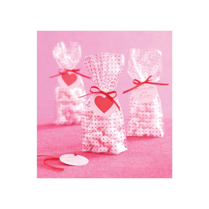 MINI HEART-CELLO TREAT BAG