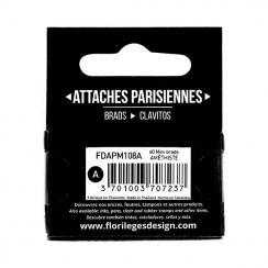 Mini attaches parisiennes Améthyste