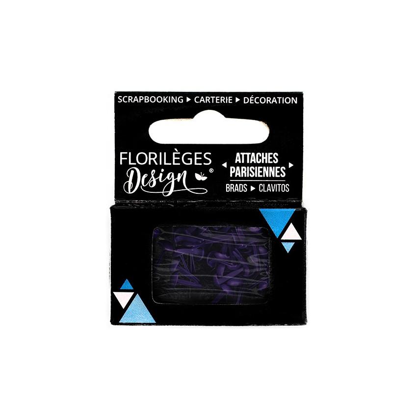 Mini attaches parisiennes Myrtille par Florilèges Design. Scrapbooking et loisirs créatifs. Livraison rapide et cadeau dans c...
