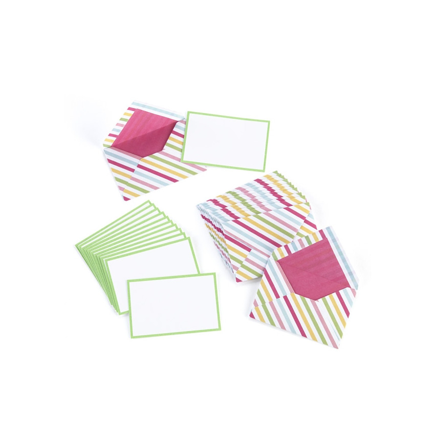 PROMO de -40% sur Cartes et enveloppes Modern Festive Martha Stewart
