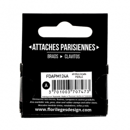 Mini attaches parisiennes Perle