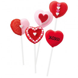 HEART 12CV-CAKE POPS PAN