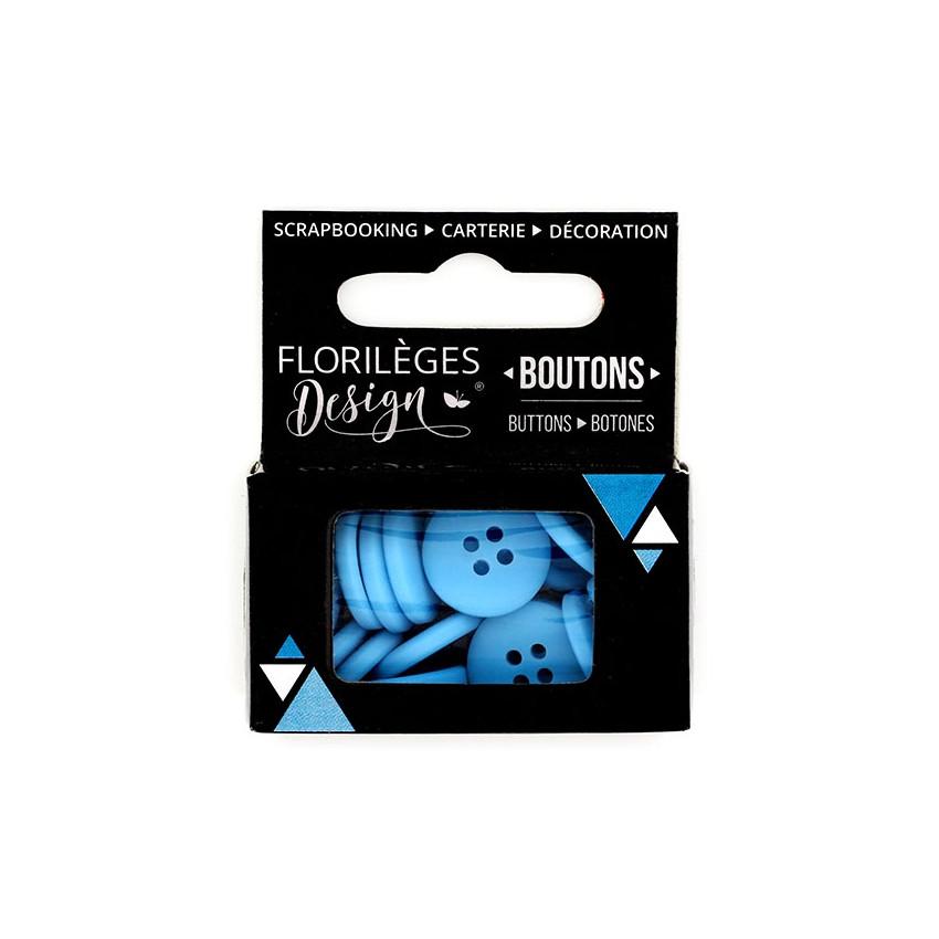 Boutons Céleste par Florilèges Design. Scrapbooking et loisirs créatifs. Livraison rapide et cadeau dans chaque commande.