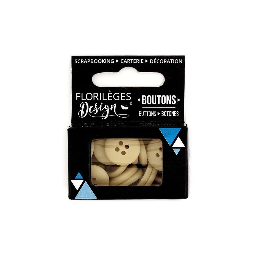 PROMO de -99.99% sur Boutons Sable Florilèges Design
