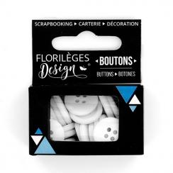 PROMO de -60% sur Boutons Edelweiss Florilèges Design
