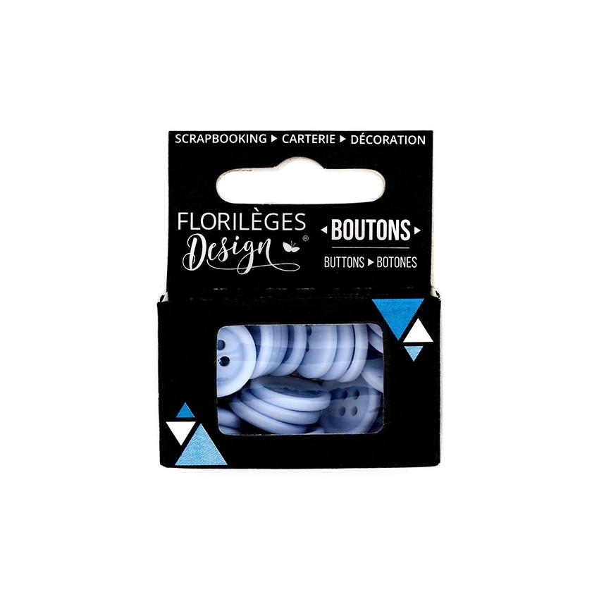 Boutons Jacinthe par Florilèges Design. Scrapbooking et loisirs créatifs. Livraison rapide et cadeau dans chaque commande.