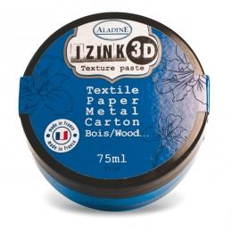Pâte texture 3D IZINK bleu IRIS