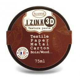 Pâte texture 3D IZINK marron AMBRE