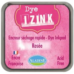 Encreur à séchage rapide  IZINK DYE rose ROSEE