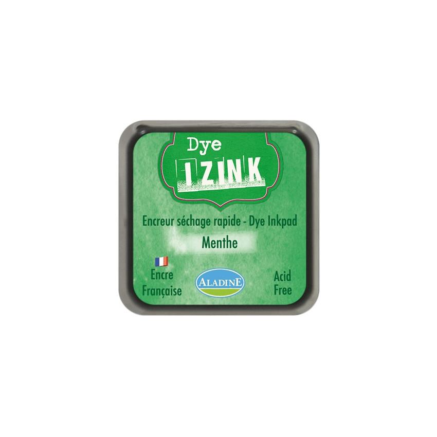 Encreur à séchage rapide  IZINK DYE vert MENTHE