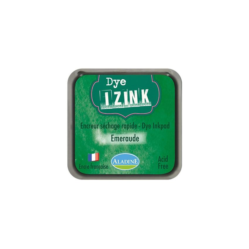 Encreur à séchage rapide  IZINK DYE vert EMERAUDE