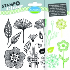 Tampons clear STAMPO CLEAR FLEURS