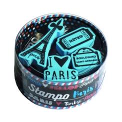 Tampons caoutchouc sur mousse  PARIS
