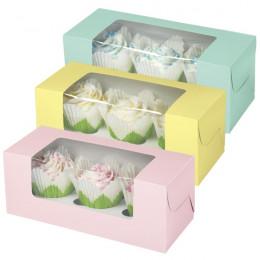 Boites à cupcakes pastel