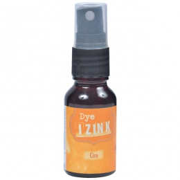 Encre en spray IZINK DYE orange CIRE