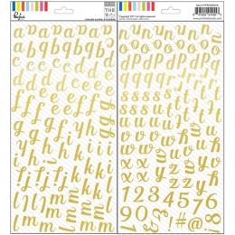 Alphabet stickers or Foil THE MIX NO.1