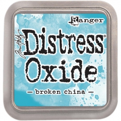 Encre Distress OXIDE BROKEN CHINA par Ranger. Scrapbooking et loisirs créatifs. Livraison rapide et cadeau dans chaque commande.