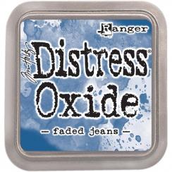 Encre Distress OXIDE FADED JEANS par Ranger. Scrapbooking et loisirs créatifs. Livraison rapide et cadeau dans chaque commande.
