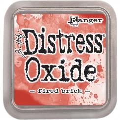 Encre Distress OXIDE FIRED BRICK par Ranger. Scrapbooking et loisirs créatifs. Livraison rapide et cadeau dans chaque commande.