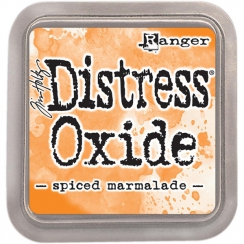Encre Distress OXIDE SPICED MARMALADE par Ranger. Scrapbooking et loisirs créatifs. Livraison rapide et cadeau dans chaque co...