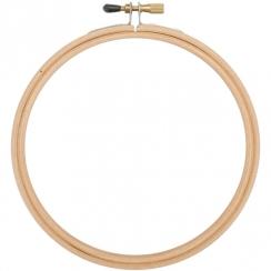 Cercle à broder bois 10 cm