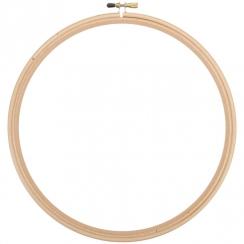Cercle à broder bois 30 cm