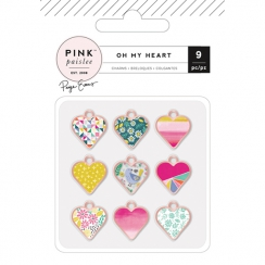 Breloques cœurs OH MY HEART