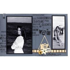 Tampon bois MINI NÉGATIF par Florilèges Design. Scrapbooking et loisirs créatifs. Livraison rapide et cadeau dans chaque comm...