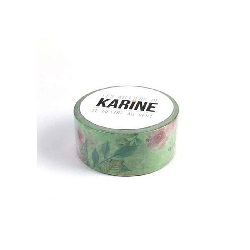 Masking tape FLORAL