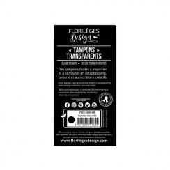 Tampons clear COUCOU ME VOILÀ-capsule janvier par Florilèges Design. Scrapbooking et loisirs créatifs. Livraison rapide et ca...