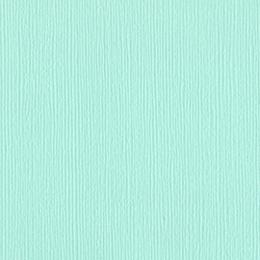 Papier uni 30,5x30,5 Turquoise Mist