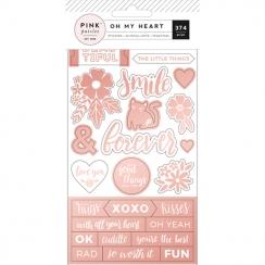 Carnet de stickers OH MY HEART