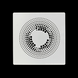 Pochoir DE POINTS EN POINTS-Capsule Avril 2017 par Florilèges Design. Scrapbooking et loisirs créatifs. Livraison rapide et c...