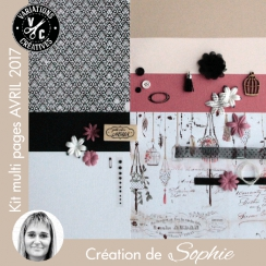 Kit Multi Pages AVRIL 2017