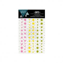 Dots SUMMER par Florilèges Design. Scrapbooking et loisirs créatifs. Livraison rapide et cadeau dans chaque commande.