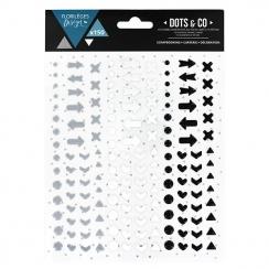 Dots & Co WINTER par Florilèges Design. Scrapbooking et loisirs créatifs. Livraison rapide et cadeau dans chaque commande.