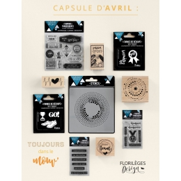 Pack complet capsule d Avril 2017