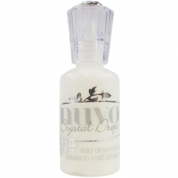 Peinture dimensionnelle Nuvo Crystal Drops GLOSS SIMPLY WHITE