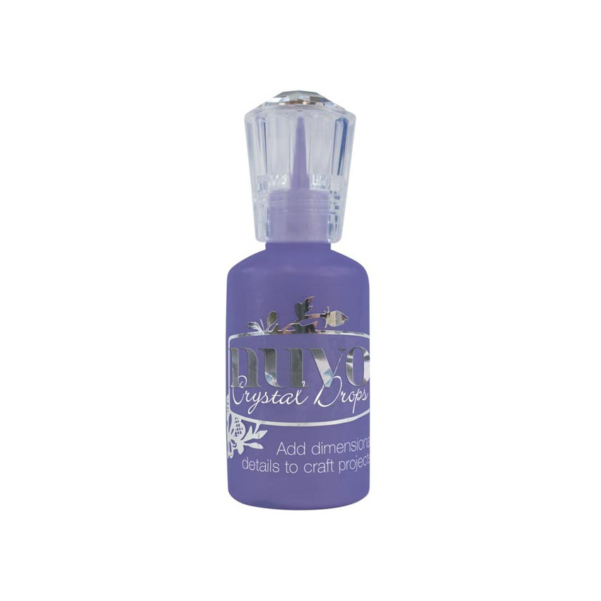 Peinture dimensionnelle Nuvo Crystal Drops GLOSS CRUSHED GRAPE