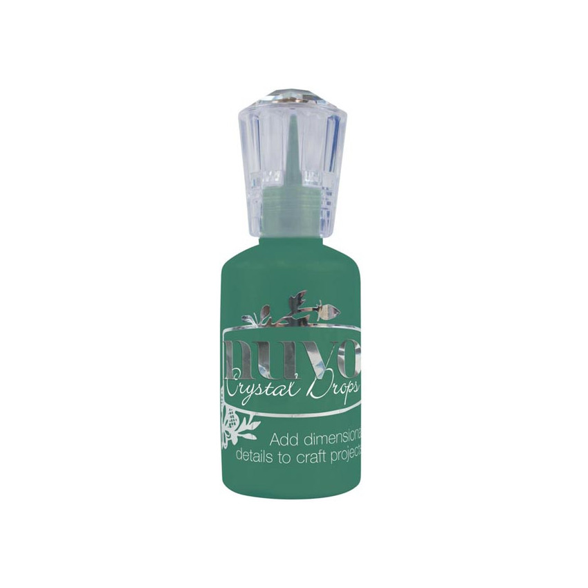 Peinture dimensionnelle Nuvo Crystal Drops GLOSS WOODLAND GREEN