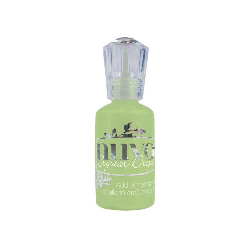 Peinture dimensionnelle Nuvo Crystal Drops GLOSS APPLE GREEN