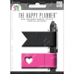 Porte-stylo pour Happy Planner Create 365 PINK/BLACK